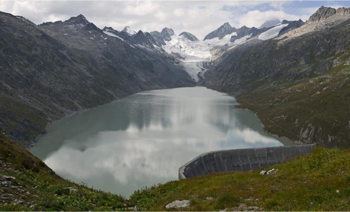 Oberaar, Grimsel, Berner Alpen, Schweiz Oberaar, Grimsel, Bernese Alps, Switzerland