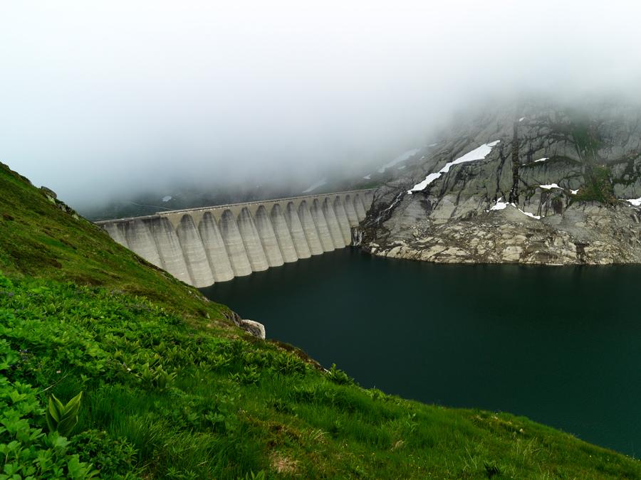 Stausee Lucendro, Gotthard, Tessin, Schweiz Stausee Lucendro, Gotthard, Ticino, Switzerland